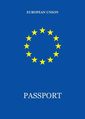 PASSPORT - Europa
