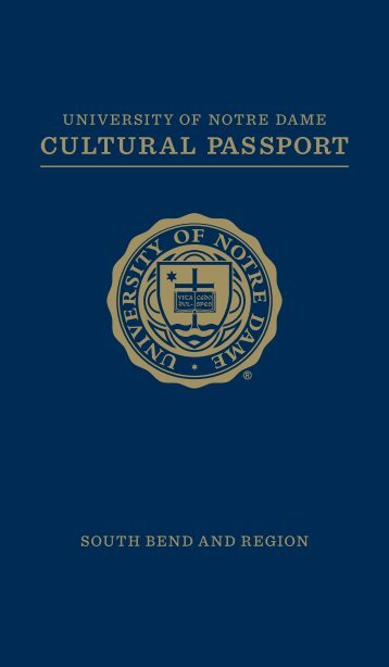 CULTURAL PASSPORT - Graduate School - University of Notre Dame