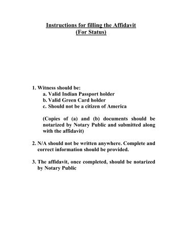 Application Form For Indian Passport At An Indian Missionpost