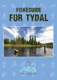 Fiskeguide for Tydal finner du her. - Fiske i Neadalen