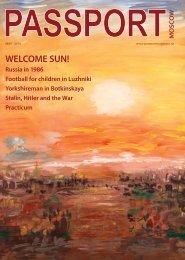 WELCOME SUN! - Passport magazine