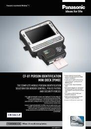 PIMD Spec Sheet - Panasonic