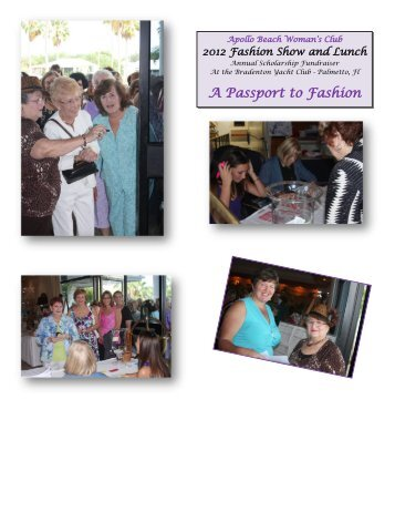 A Passport to Fashion - Apollo Beach Woman