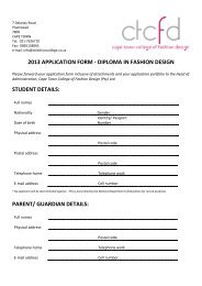 Stockist Application Form Kingdom Come Fashion Agency