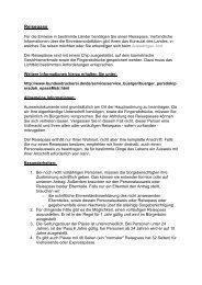 Reisepass (Formular) - Waldbronn
