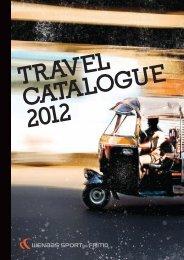 TRAVEL CATALOGUE 2012 - Wenaas Sport og Fritid