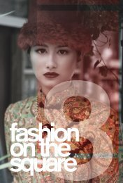 FOTS 2012 Program - Fashion on The Square