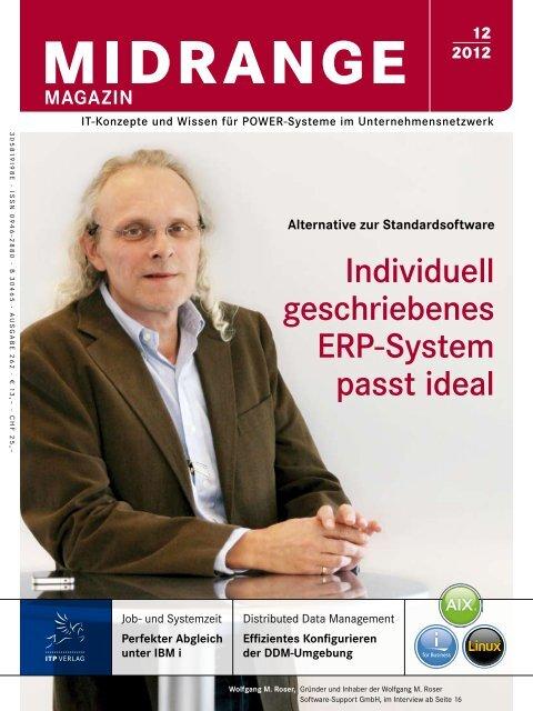 Individuell geschriebenes ERP-System passt ideal - Midrange ...
