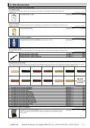 Meadows & Passmore Uhrmacher Verbrauchsartikel-Katalog, 38-1d