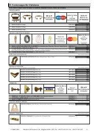 9. Verzierungen Für Uhrkästen - auf der M & P Internetseite.