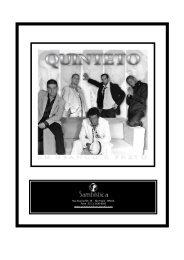 Baixe aqui o release do novo CD e - Quinteto em Branco e Preto