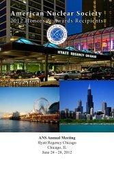 Honors & Awards Program - 2012 Annual Meeting - American ...