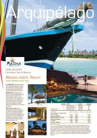 Matemo Island Resort - Sofala