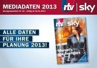 MEDIADATEN 2013 - Rtv-mediasolutions.de