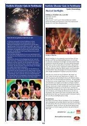 Festliche Silvester-Gala im Parktheater Musical StarNights ... - Iserlohn