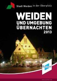 Gastgeberverzeichnis - Stadt Weiden in der Oberpfalz