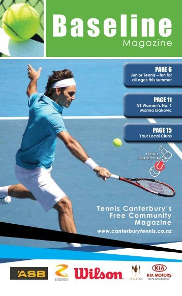 A PDF version of the Baseline Magazine Can - Canterbury Tennis