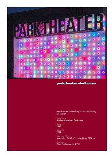 parktheater eindhoven - Architecten