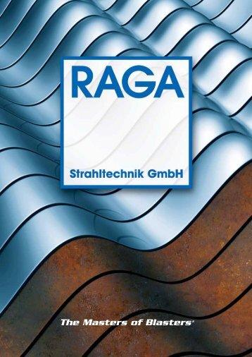 The Masters of Blasters® - RAGA Strahltechnik GmbH