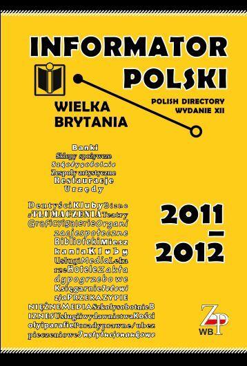 Informator Polski 2011/2012 - Zjednoczenie Polskie