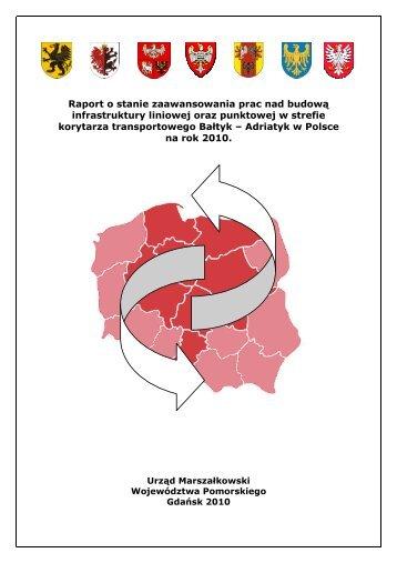 Raport o stanie zaawansowania prac nad budową infrastruktury ...