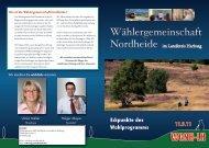 Wahlprogramm kurz (PDF 5.8MB) - Wer ist die Wählergemeinschaft ...