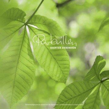 Download der Produktbroschüre - Siebengrün