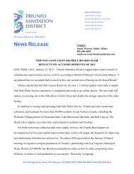 triunfo sanitation district board chair reflects on accomplishments