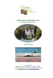 Hochzeitsmappe (PDF) - Hotel Dermuth