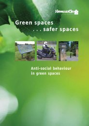 Anti social behaviour in green spaces - Newcastle City Council