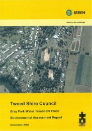 Environmental Assessment Report - Tweed Shire Council - NSW ...