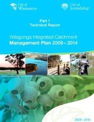 Part 1: Technical Report Yellagonga Integrated ... - City of Joondalup