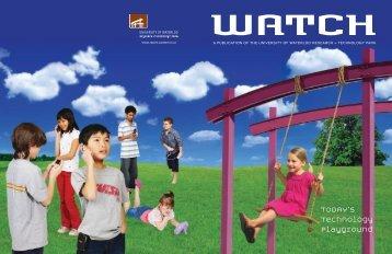 +T Park Watch Magazine - University of Waterloo