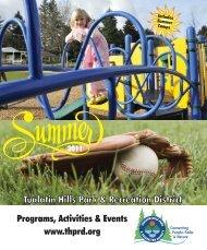 Summer 2011 - Tualatin Hills Park & Recreation District