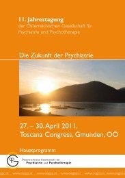 27. – 30. April 2011, Toscana Congress, Gmunden, OÖ - ÖGPP