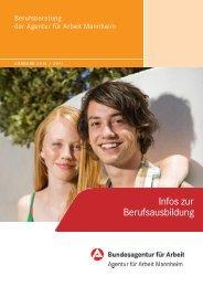 Infos zur Berufsausbildung 2010/2011 - planet-beruf regional ...