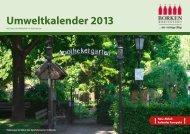 Umweltkalender 2013 - Stadt Borken