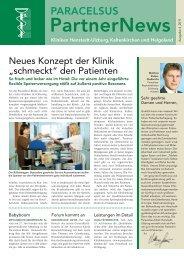 PartnerNews - bei der Paracelsus-Kliniken Deutschland GmbH & Co ...