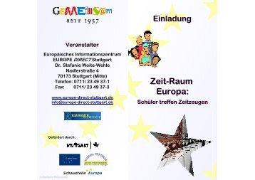 Zeit-Raum Europa - Europe - Direct Stuttgart