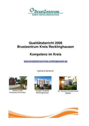 Qualitätsbericht - BrustZentrum Kreis Recklinghausen