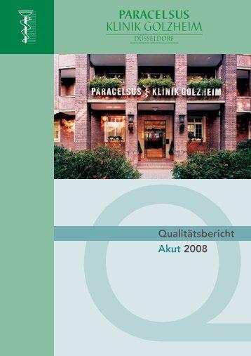 Paracelsus-Klinik Golzheim - bei der Paracelsus-Kliniken ...