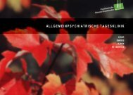 Allgemeinpsychiatrische Tagesklinik (PDF) - PDGR