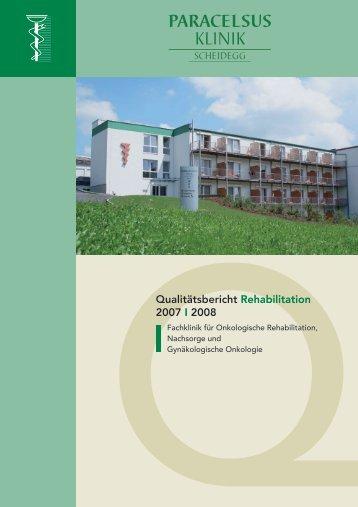 Paracelsus-Klinik Scheidegg - bei der Paracelsus-Kliniken ...