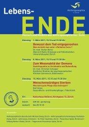 Flyer zur Veranstaltung - 150 Jahre Rudolf Steiner 2011