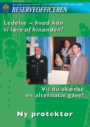 Reserveofficeren 2 / 2004 - HPRD - Hovedorganisationen for ...