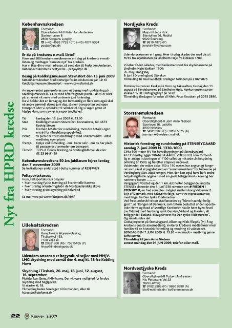 reserven - HPRD - Hovedorganisationen for Personel af Reserven i ...