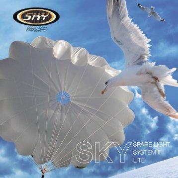SPARE LIGHT SYSTEM II LITE - SKY Paragliders