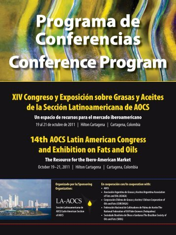 Programa de Conferencias Conference Program - American Oil ...