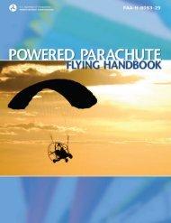 FAA-H-8083-29 Powered Parachute Flying Handbook - Easy Flight ...