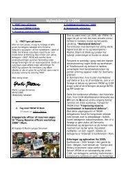 Nyhedsbrev 1 / 2006 - HPRD - Hovedorganisationen for Personel af ...